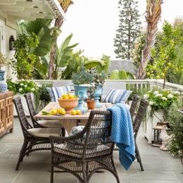 Rexford Residence Landscape Design Terrace