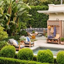 Rexford Residence Landscape DesignBack Patio