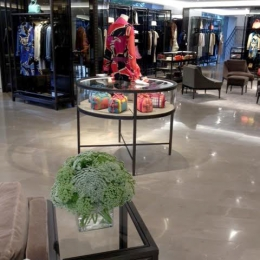 Burberry Store Floral Interior