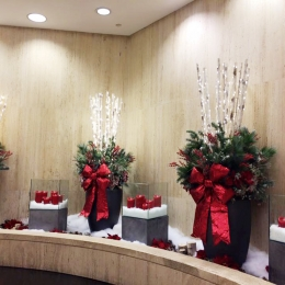 Century Plaza Towers Holiday Decor 2015
