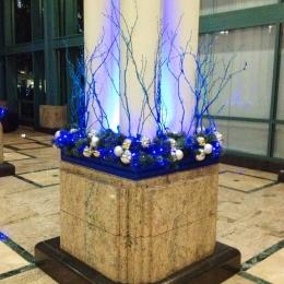 Water Garden Holiday Decor 2012
