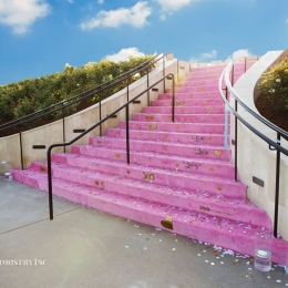 Ratner Bat Mizvah_ Stair Installation