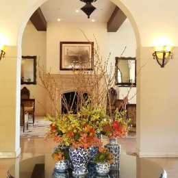 Rivera Country Club Commercial Floral Design