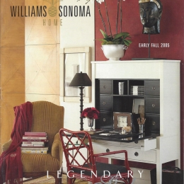 William Sanoma Styling Early Fall 2005