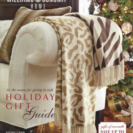 William Sanoma Styling Holiday 2009